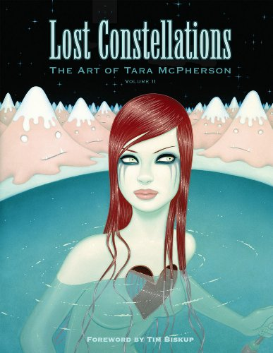 Cover of Lost Constellations  The Art of Tara McPherson