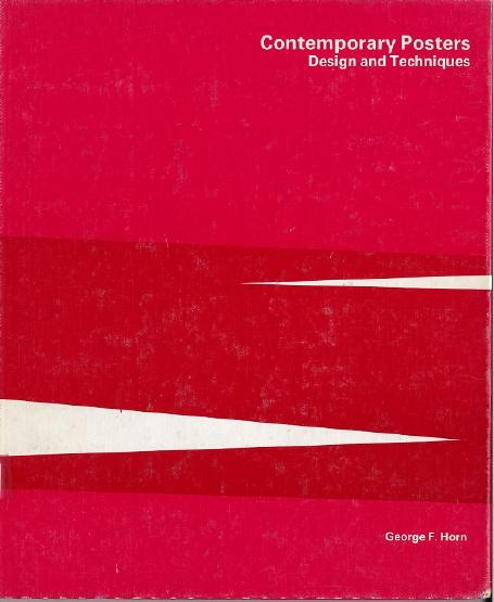 Cover of Contemporary Posters  Design   Techniques
