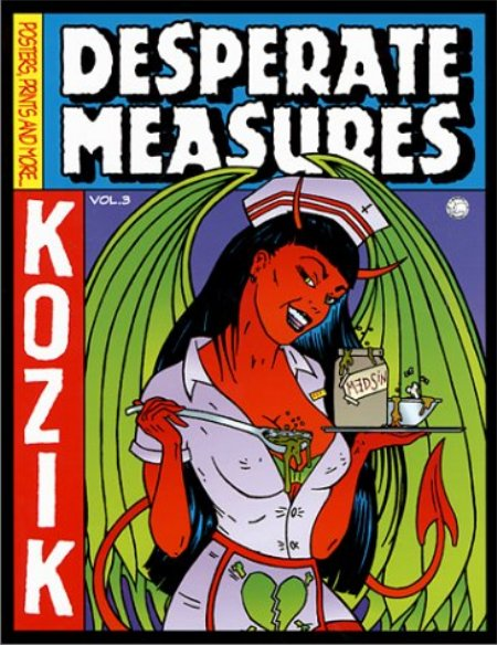Cover of Desperate Measures