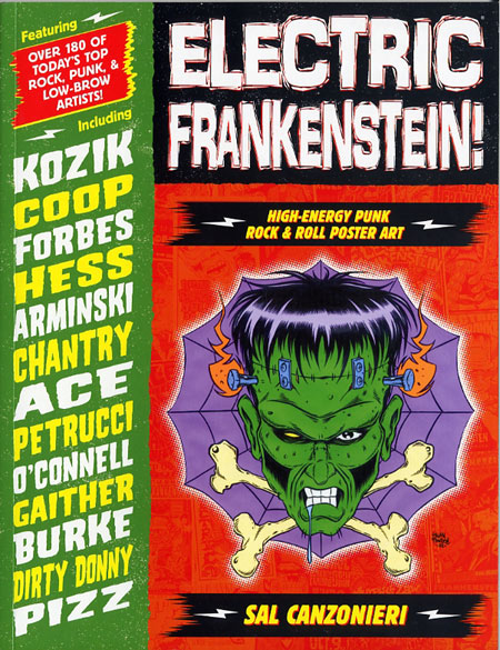 Cover of Electric Frankenstein