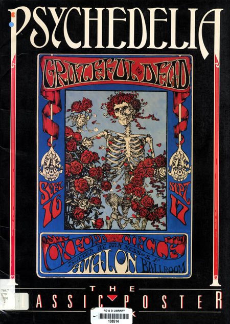 Cover of Psychedelia  The Classic Poster Book