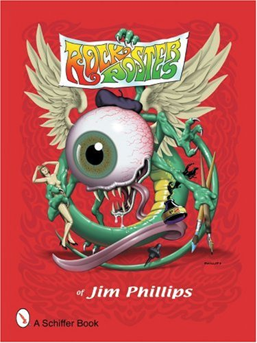 Cover of Rock Posters of Jim Phillips