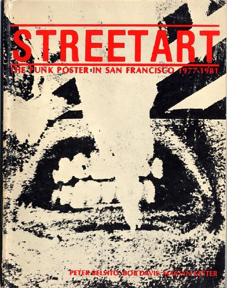 Cover of Street Art  The Punk Poster in San Francisco