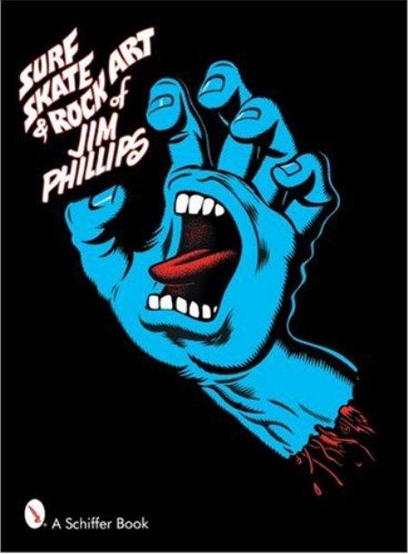 Cover of Surf  Skate   Rock Art of Jim Phillips