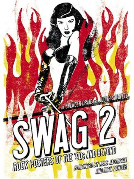 Cover of Swag 2  Rock Posters of the  90s and Beyond