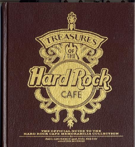 Cover of Treasures of the Hard Rock Cafe  The Official Guide to the Hard Rock Cafe Memorabilia Collection